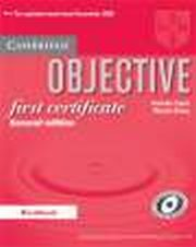 ksiazka tytuł: Objective First Certificate Second edition WB autor: Annette Capel, Wendy Sharp