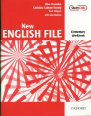 New English File Elementary Workbook, Oxenden Clive, Seligson Paul, Latham-Koenig Christina