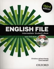 English File Intermediate Student's Book + DVD, Latham-Koenig Christina, Oxenden Clive