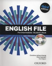 English File Pre-Intermediate Student's Book + CD, Latham-Koenig Christina, Oxenden Clive