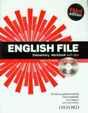 English File Elementary Workbook with key + CD-ROM,