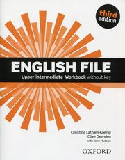 English File Upper-Intermediate Workbook without key,