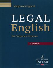 Legal English, Cyganik Małgorzata